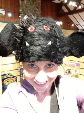 Bat Hat at Crystal Cave